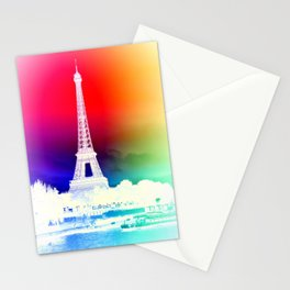 paris. Other Side of the Rainbow Stationery Cards