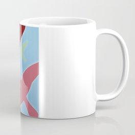 Multicolored Flock over Blue Sky Coffee Mug