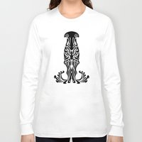 aquarius Long Sleeve T-shirts featuring Aquarius by Mario Sayavedra