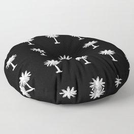 Palmetto 3-palms,drupe,sabal,swamp,cabbage,abanico,drupa,palmera Floor Pillow