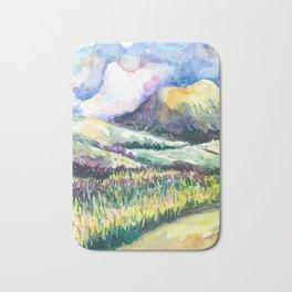 Path to Cloud Mountain Bath Mat