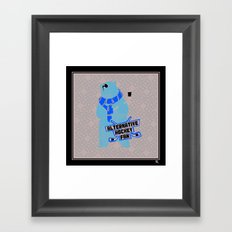 Alternative Hockey Fan - Boston Framed Art Print