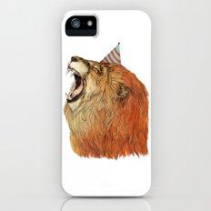 Birthday Lion iPhone (5, 5s) Slim Case