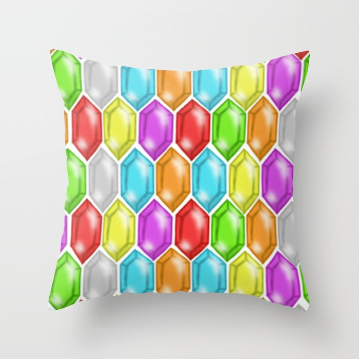 Ruppee Madness! Throw Pillow