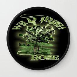 WILD IRISH ROSE 2.0 Wall Clock