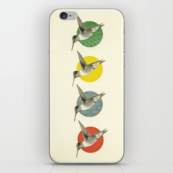 The Hummingbird Dance iPhone & iPod Skin