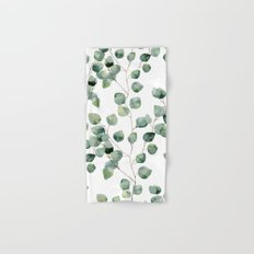 Eucalyptus leaves Hand & Bath Towel
