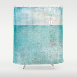 Boat (variation) Shower Curtain
