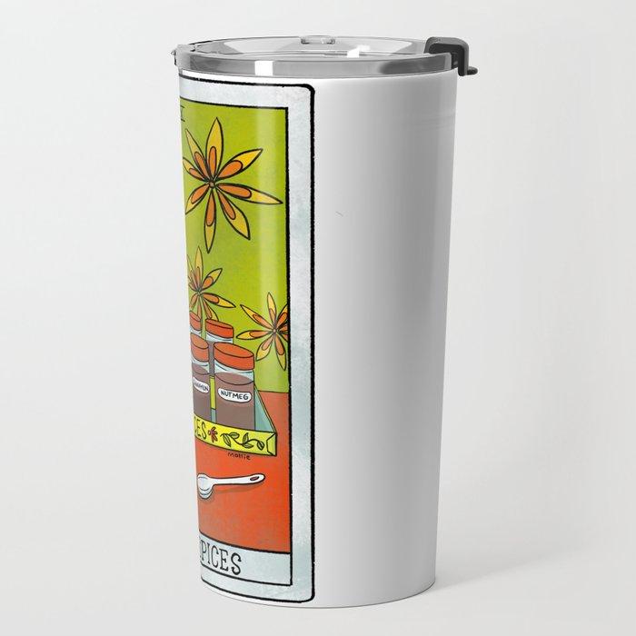 The Spices |Baker's Tarot Travel Mug