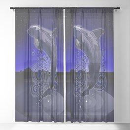Dolphin - Night Sheer Curtain
