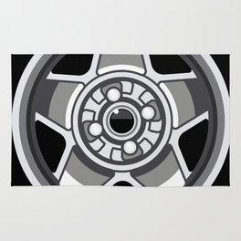 Wheel Design Retro Cromodora Daytona Rug
