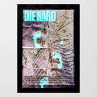 die hard Art Prints featuring Die Hard by Strangeland Studios