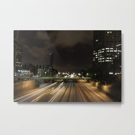 01 - DownTown_LA Metal Print