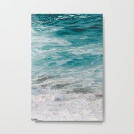 The beach is where I belong Metal Print