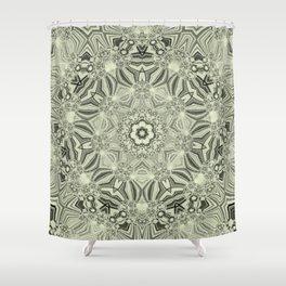 Lines-Balls-Mandalas Kaleidoscope2 Shower Curtain