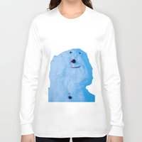 snowman Long Sleeve T-shirts featuring Snowman  by AstridJN