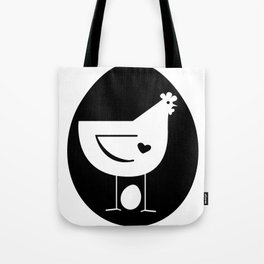 2013 Hug A Chicken Day Tote Bag