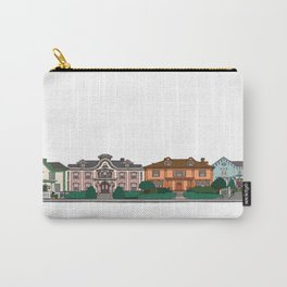 New Bedford Houses Carry-All Pouch