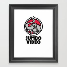 Jumbo Video Framed Art Print