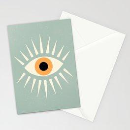 Yellow Eye Stationery Cards