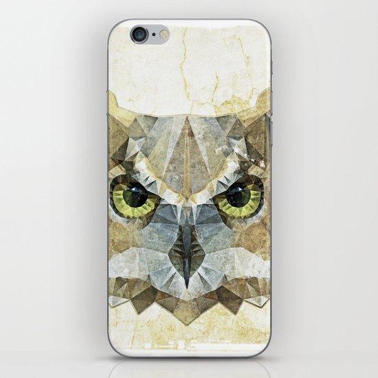 abstract owl iPhone & iPod Skin