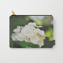 White Hydrangea | Highland Park, Rochester NY Carry-All Pouch