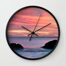Natural Watercolors Wall Clock