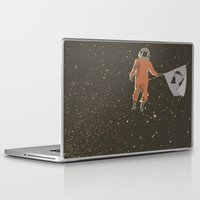 dreamer Laptop & iPad Skins featuring Dreamer by Wolves In Space