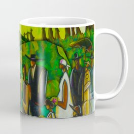 African American Masterpiece 'Funeral Procession' by Ellis Wilson Coffee Mug