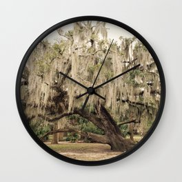 The Tree Who Whispers Wall Clock