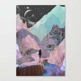 The Mountains of Lemuria Canvas Print