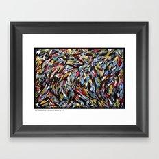 FIRST BASE Framed Art Print