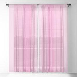 Beauty Powder Puff Pinks - Lines 1 thru 4 Sheer Curtain
