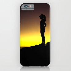Taking a Run Break iPhone 6s Slim Case