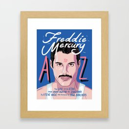 Freddie Queen mercury Framed Art Print