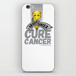 Cure Cancer iPhone Skin