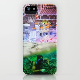 Nightswimming iPhone Case