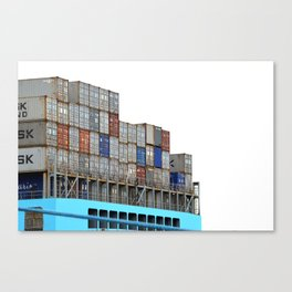 Containers Canvas Print