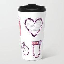 I ♥ 2 Ride U (Color Option) Travel Mug