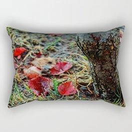 Deciduous Autumn Rectangular Pillow