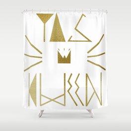 YAS KWEEN Shower Curtain