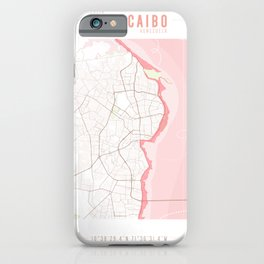 Map Chart #2 - MARACAIBO, ZULIA iPhone Case