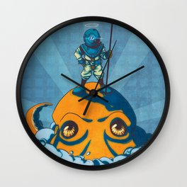 Holy Diver Wall Clock