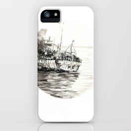 GHOST SHIP II iPhone Case
