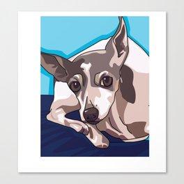 Jasmine Dog Canvas Print
