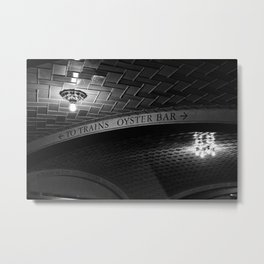 Grand Central Station Decisions Metal Print