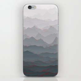 Mountains of Madness I iPhone Skin