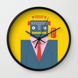 Mr. Roboto Wall Clock