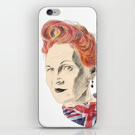 Vivienne Westwood illustration iPhone Skin