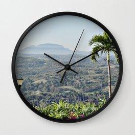 PALM'S LIGHT Wall Clock